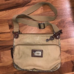 Canvas Fossil Purse